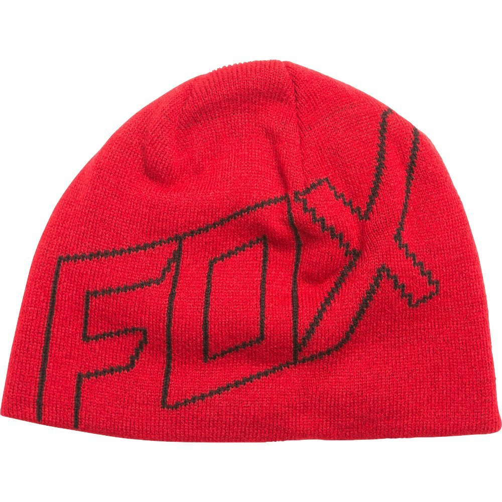 Fox Beanie Ride dunkelrot
