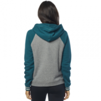 Fox Girls Hoody Flat Track Blau