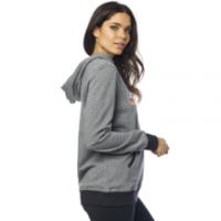 Fox Girls Hoody Retro Fox Grau