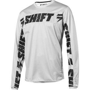 Shift White Label Salar Jersey Hellgrau