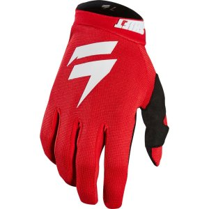 Shift White Air Handschuhe Rot