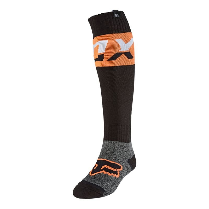 Fox Coolmax Thick Prix MX Socken Orange