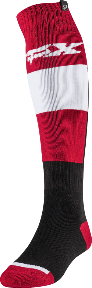 Fox Fri Thin Linc MX Socken Flame Rot