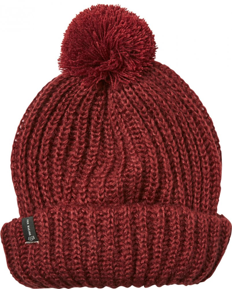 Fox Indio Winter-Mütze Cranberry