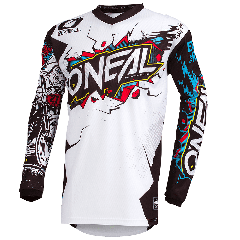 ELEMENT Youth Jersey VILLAIN white S