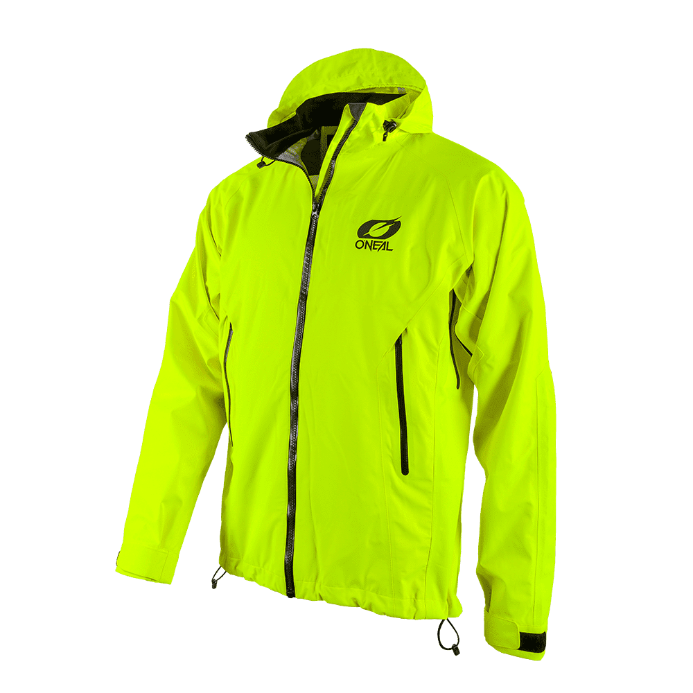 TSUNAMI Rain Jacket neon yellow S