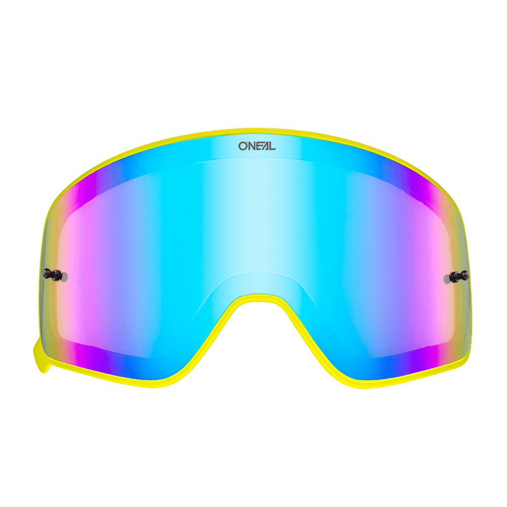 B-50 Goggle yellow SPARE LENS radium blue
