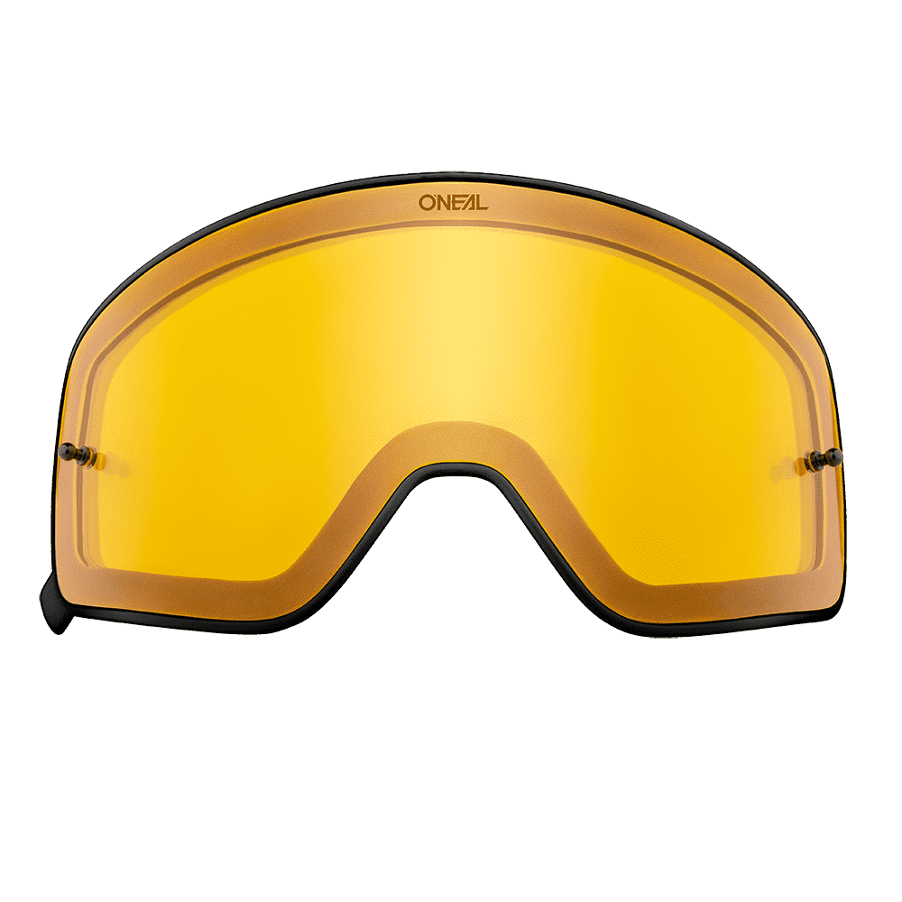 B-50 Goggle black SPARE LENS yellow