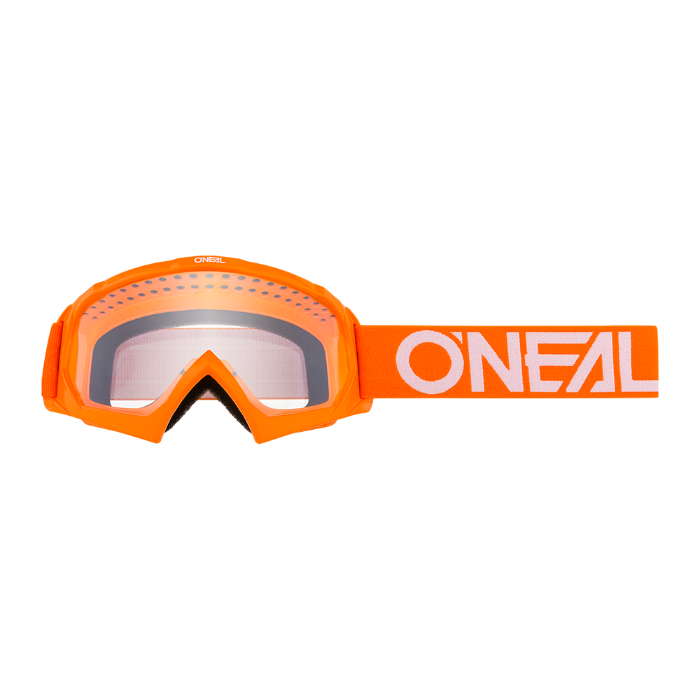 B-10 Youth Goggle SOLID orange/white