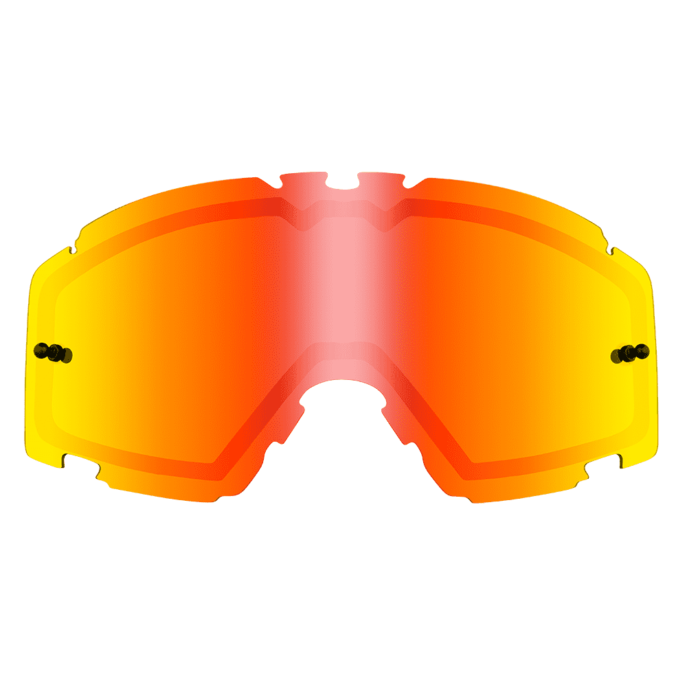 B-30 Goggle SPARE DOUBLE LENS radium red