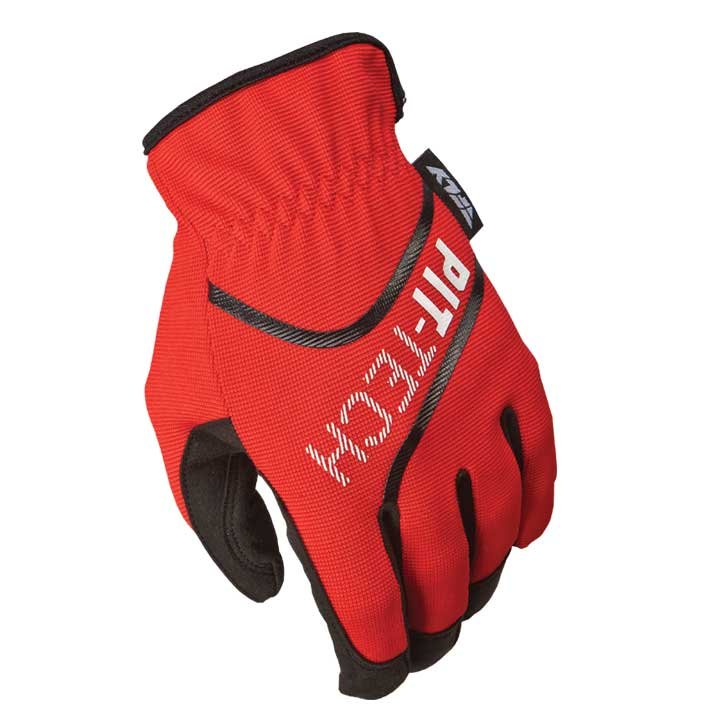 Fly Racing Handschuhe Mec Pit Tech Lite rot XL