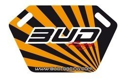 Pitboard Bud Racing incl.Stift schwarz/orange
