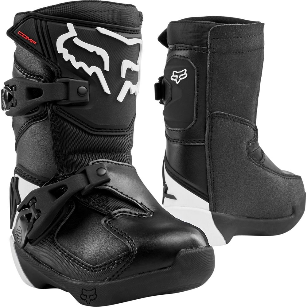 FOX PW COMP 5K Boot black/silver Gr.27,5