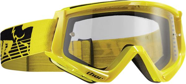 Thor Fahrerbrille Conquer yellow/black