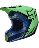 Fox V3 Helm LE blue/ylw